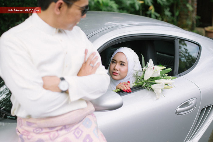 Solemnization of Hazwan & Malin