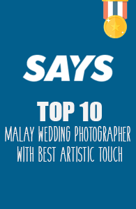 10 Jurugambar Malay Wedding Dengan Sentuhan Artistik Terbaik Pilihan SAYS